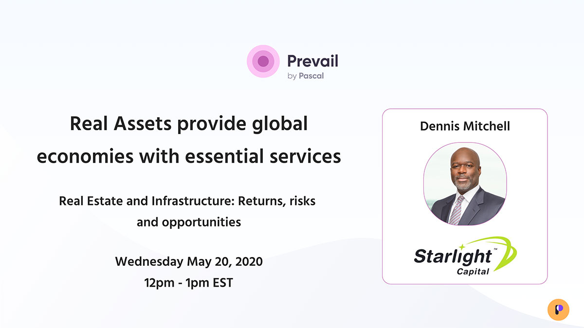 Prevail Webinar Series: Real Estate & Infrastructure